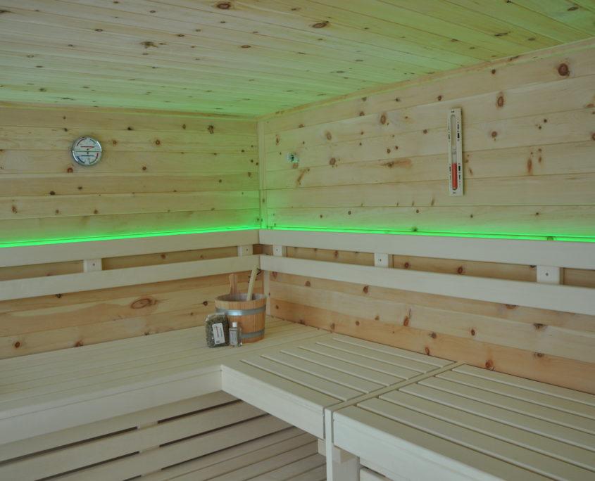 Sauna Zirbe