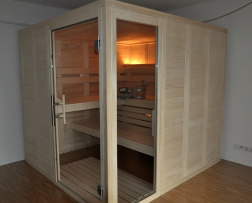 Glasfeld, Sauna, Heimsauna